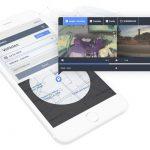 Lytx dash cam on mobile