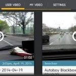 AutoBoy Dash Cam app video files