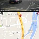 DailyRoads Voyager dash cam app map