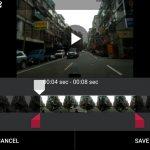 Drive Recorder dash cam app video clip