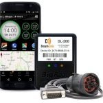 The BigRoad Dashlink ELD device and app