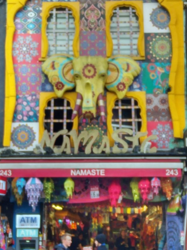 photo of shop called namaste in camden