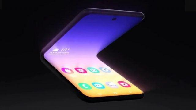 Samsung Teases New Folding Phone Design