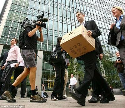 2008 financial crisis redundancies