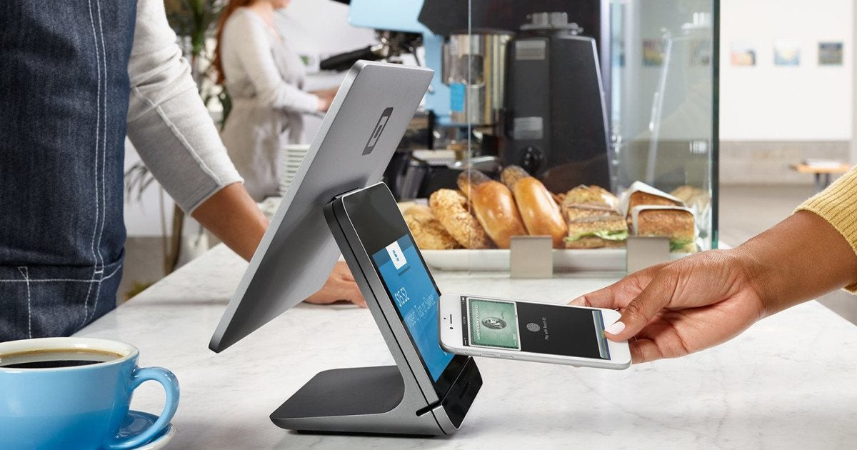 Square POS in action