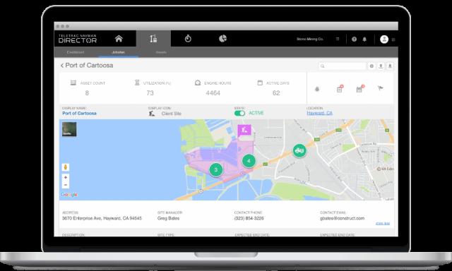 Teletrac Navman GPS asset tracking