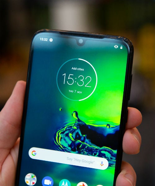 motorola g8 plus screen