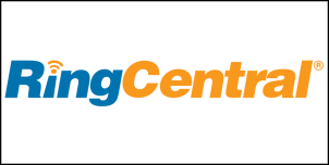 ringcentral logo with border
