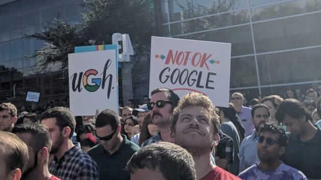 Google Protests Pentagon