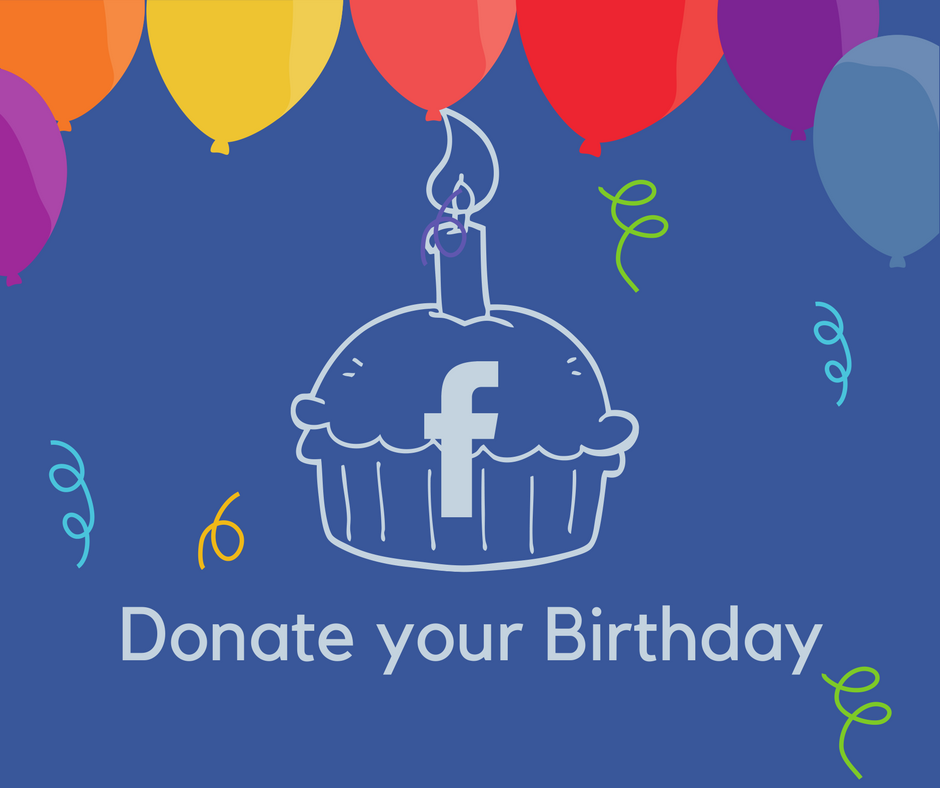Facebook Birthday Donation