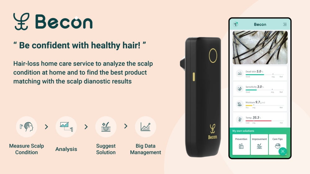 Becon hair analysis product from samsung