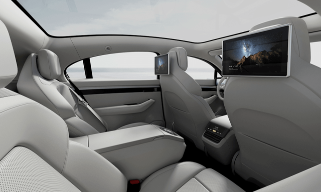 sony vision s concept rear seats