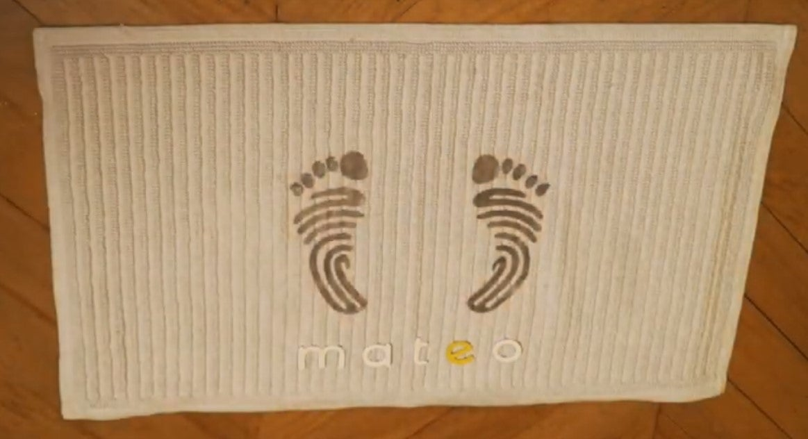 The Mateo smart mat
