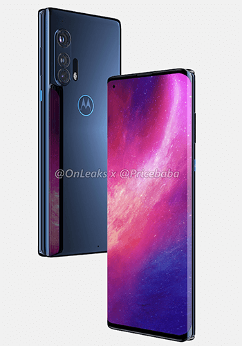 motorola edge plus render