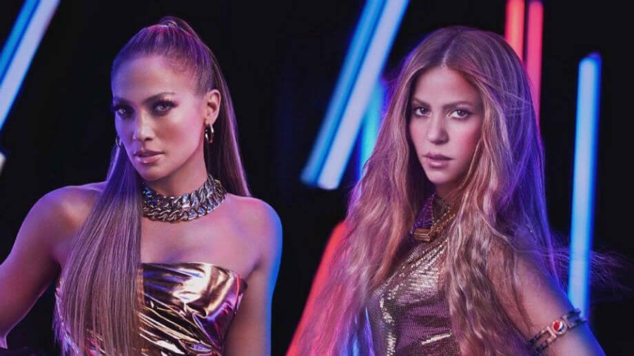 Jennifer Lopez Shakira Super Bowl