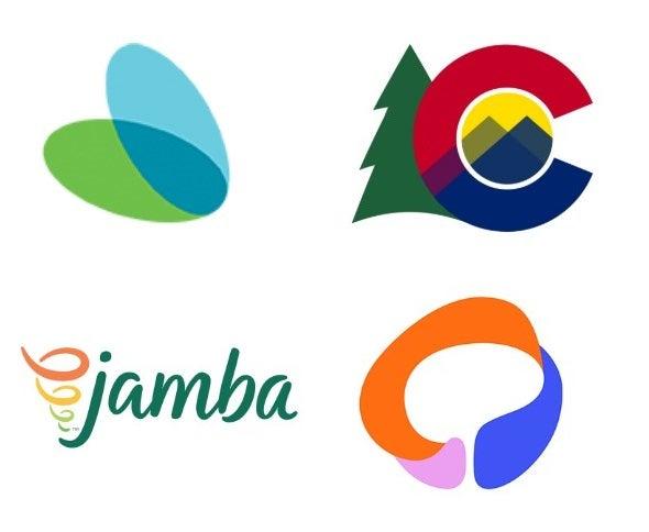 Multi-layered color logo