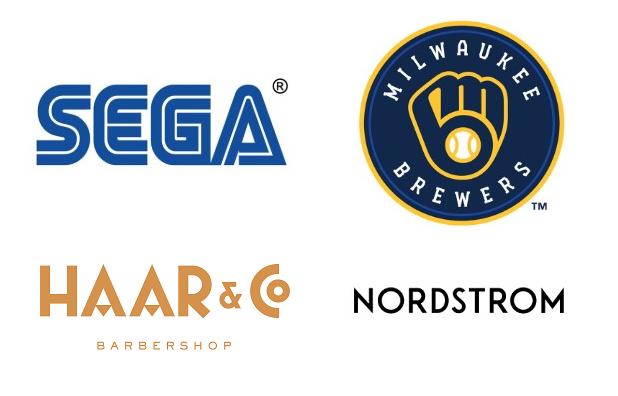 Throwback logos