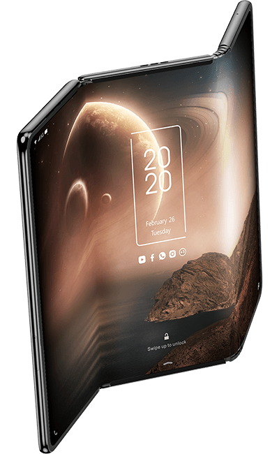 tcl tri-folding tablet