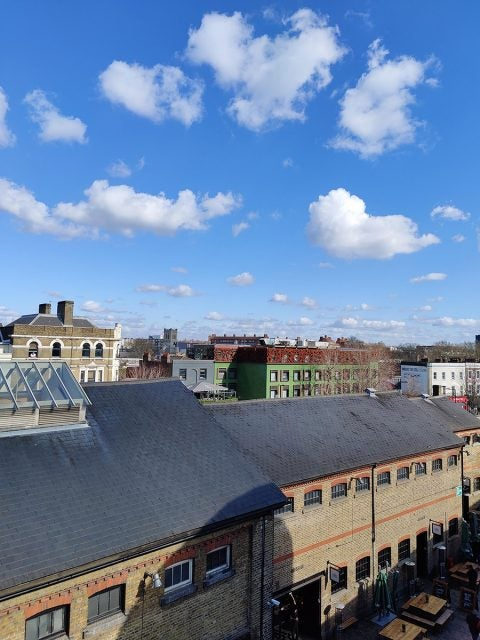 rooftop view of camden