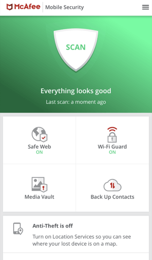 McAfee App Scan