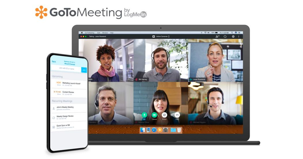GoToMeeting offers free video conferencing