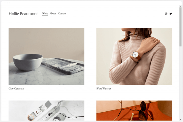 squarespace beaumont template
