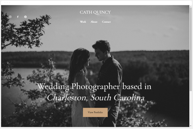 squarespace quincy template