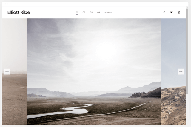 squarespace ribe template