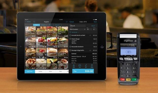 Talech POS iPad and card reader