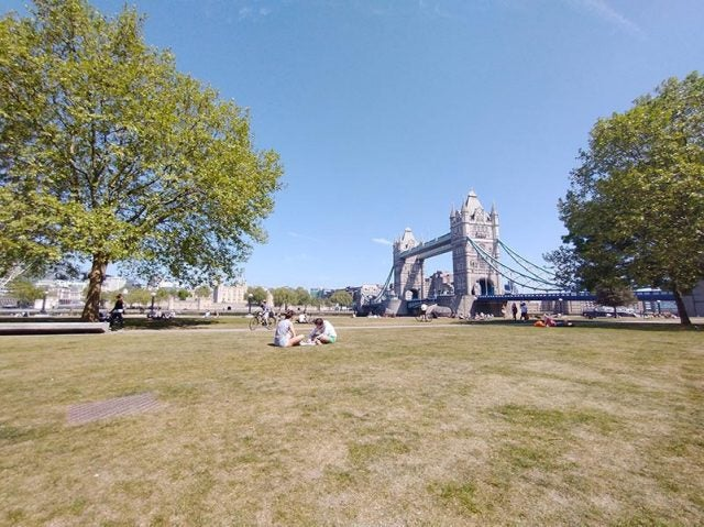 tower bridge from potters fields