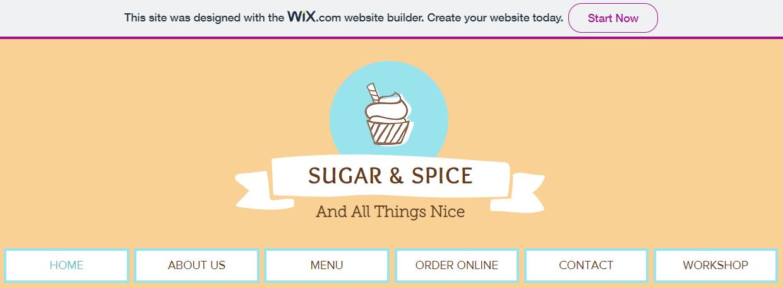 wix advert