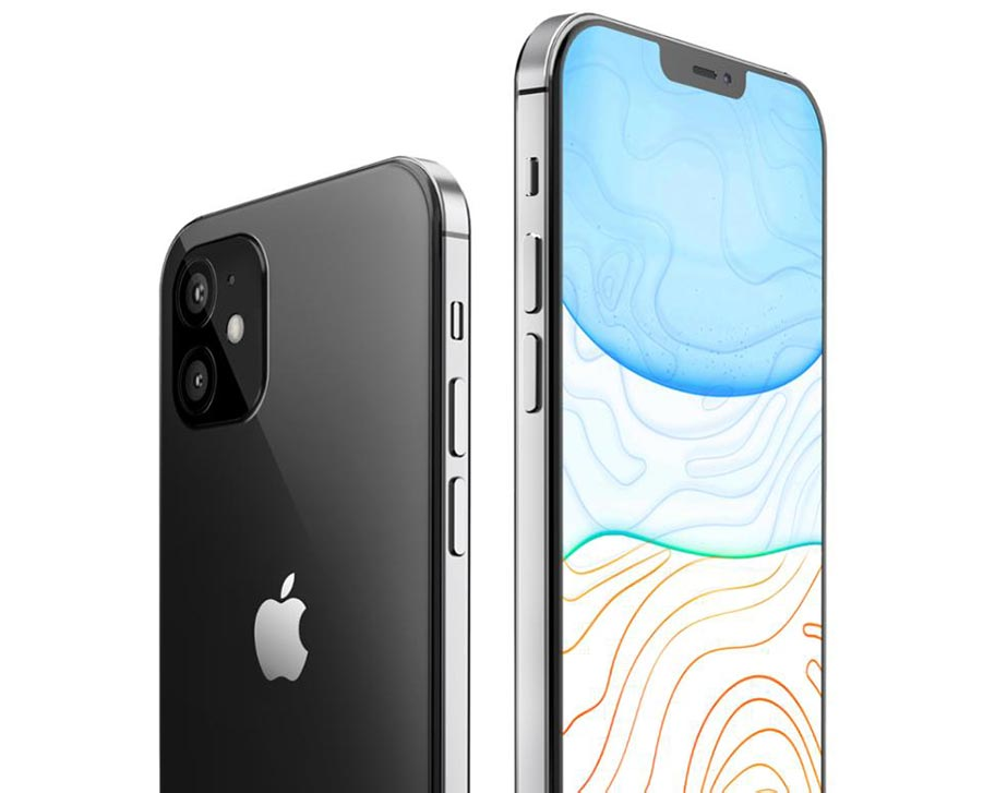 iphone 12 render based on leaked information