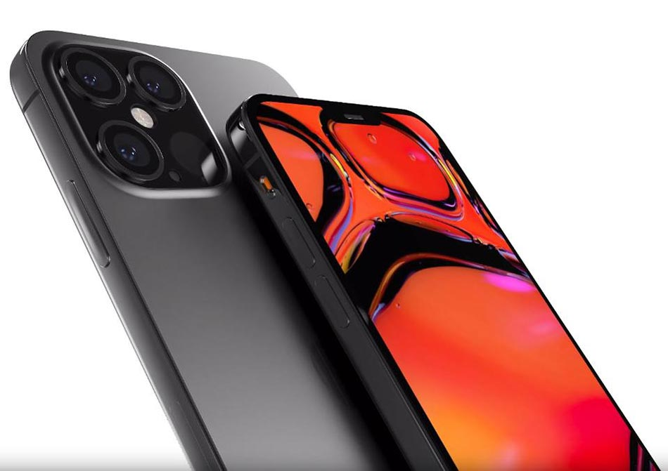 iPhone 12 Pro render based on leaked information