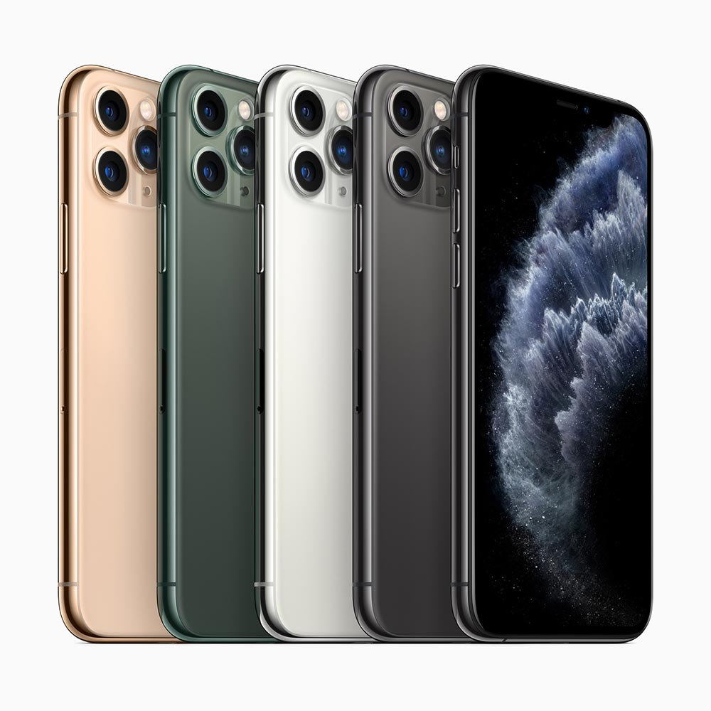 apple iphone 11 range of colors
