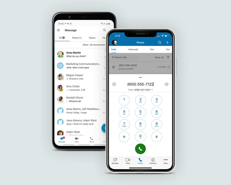 ringcentral softphone app on mobile