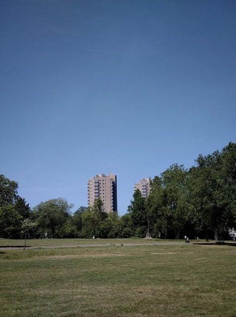 tower block near brockwell park