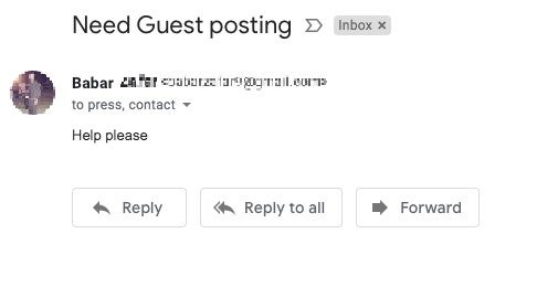 help please guest post