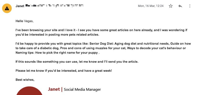 Hello Vegas Janet Guest post