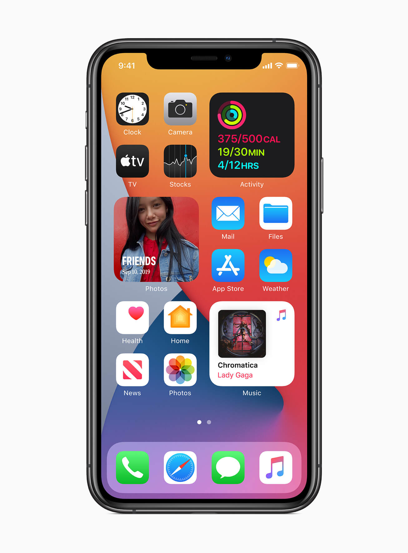 Apple iOS 14 widgets