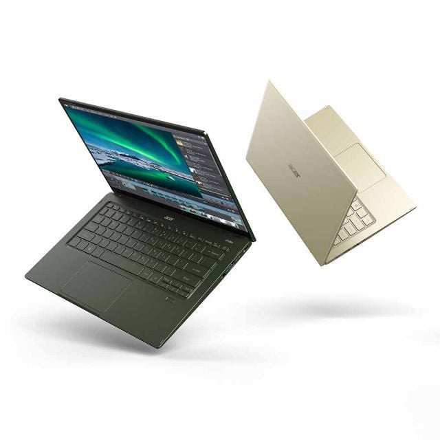 acer swift 5 front and back