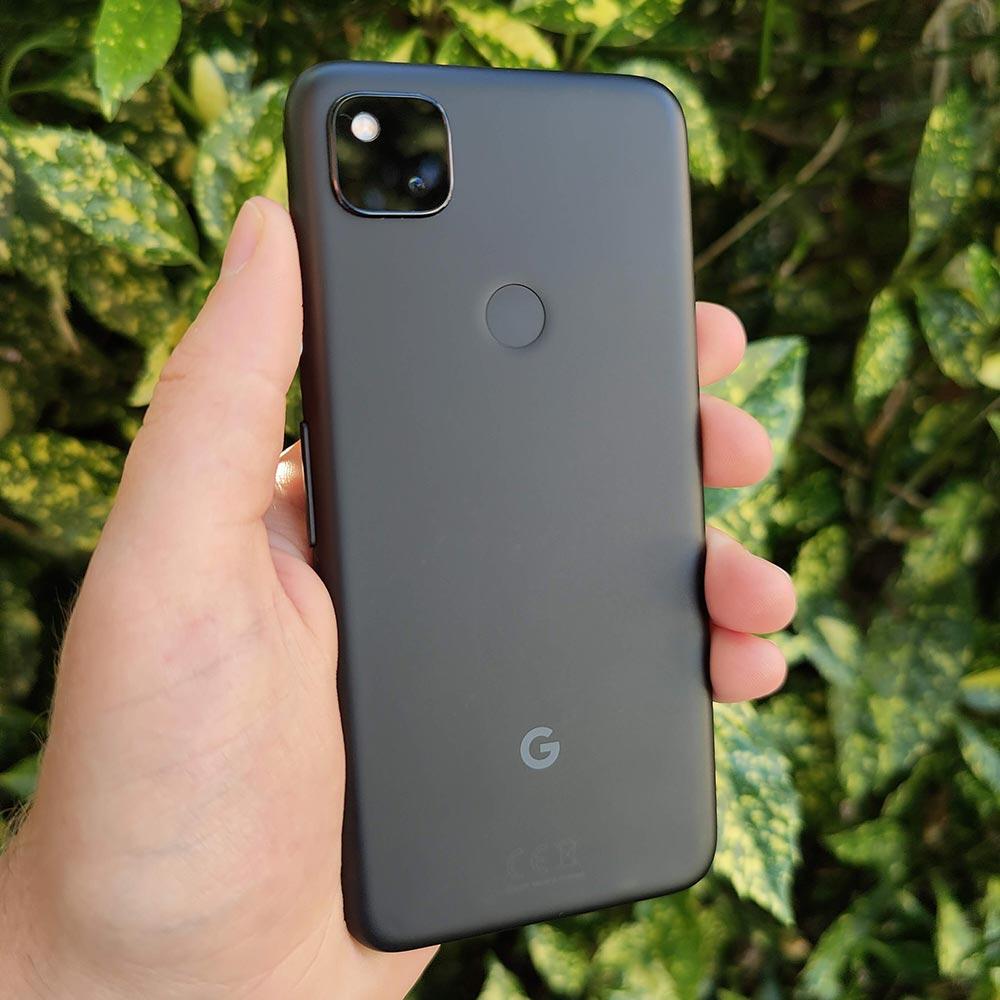 google pixel 4a rear