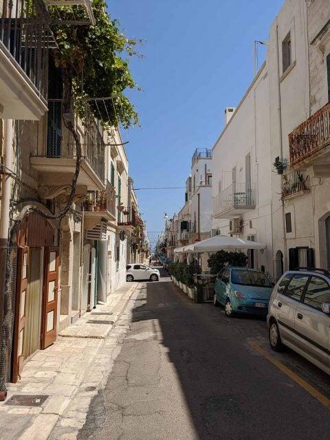 small italian street