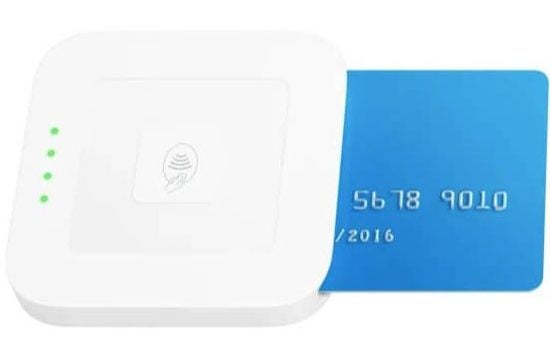 Square POS contactless card reader cost