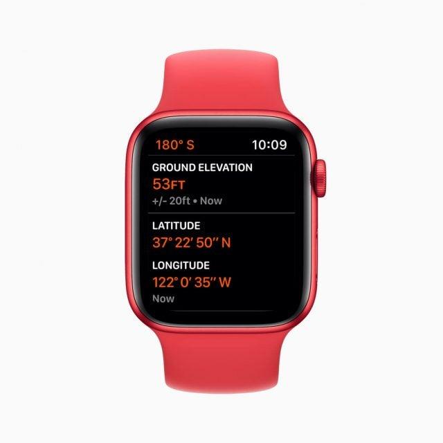 Apple watch 6 altimeter