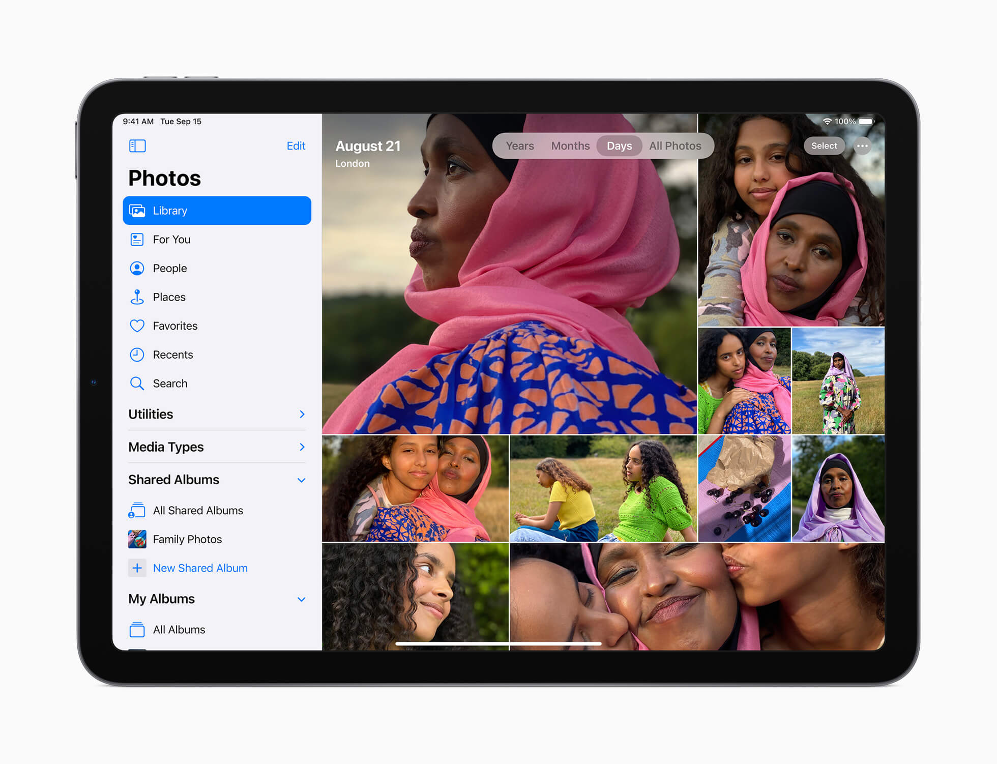 Apple iPad Air 4 photos
