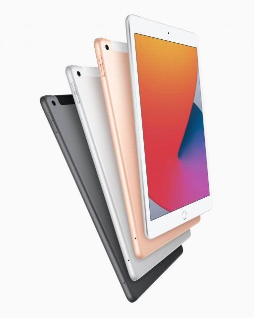 Apple iPad 8th gen colors