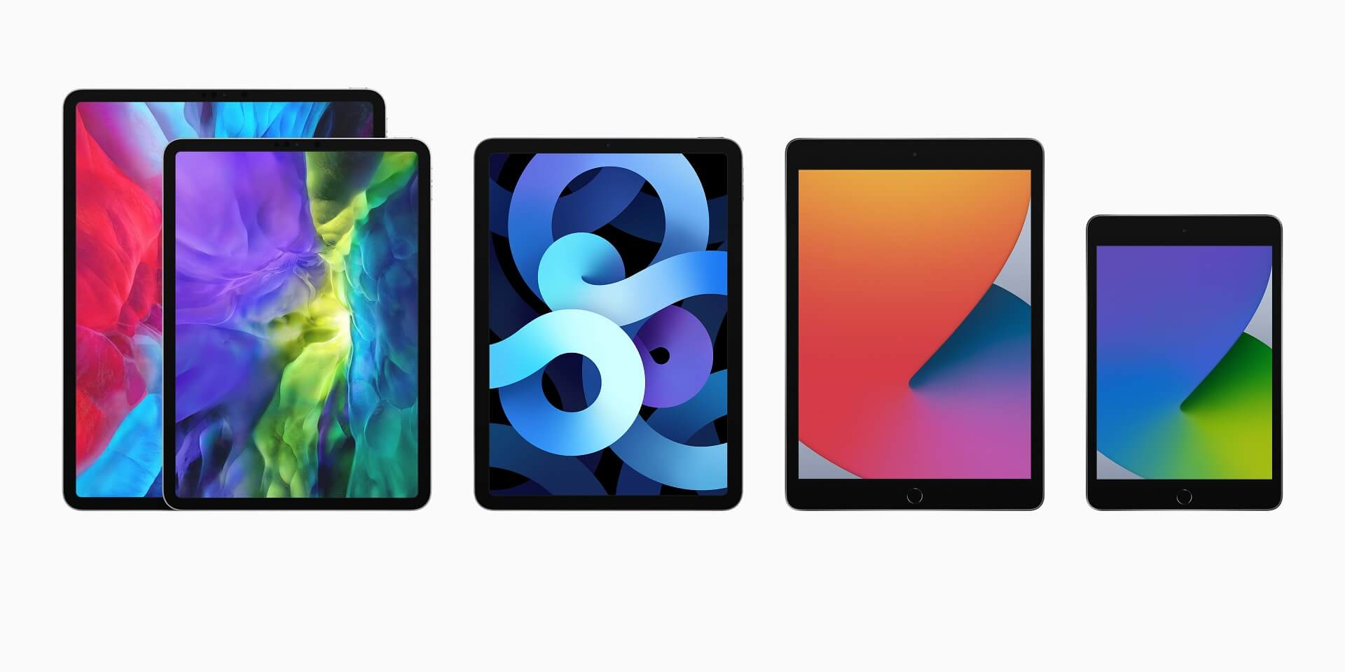 apple ipad lineup