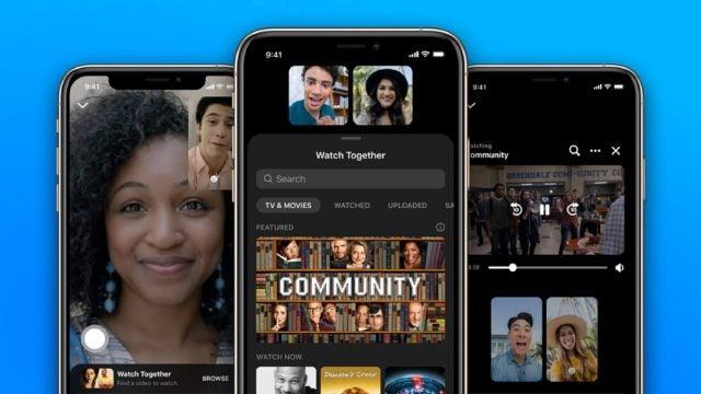 Facebook messenger watch together