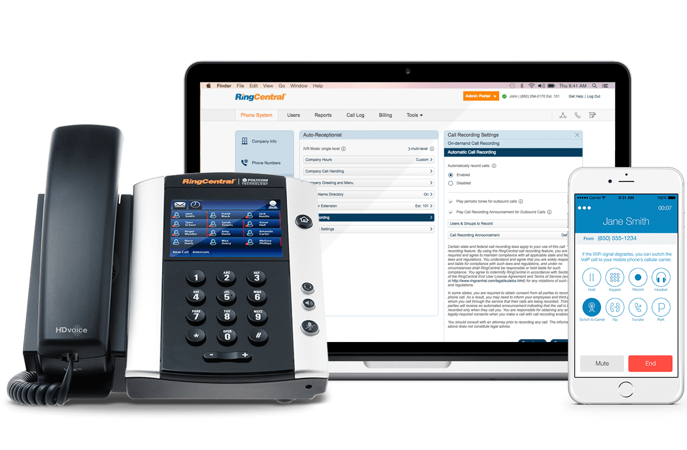 RingCentral Device