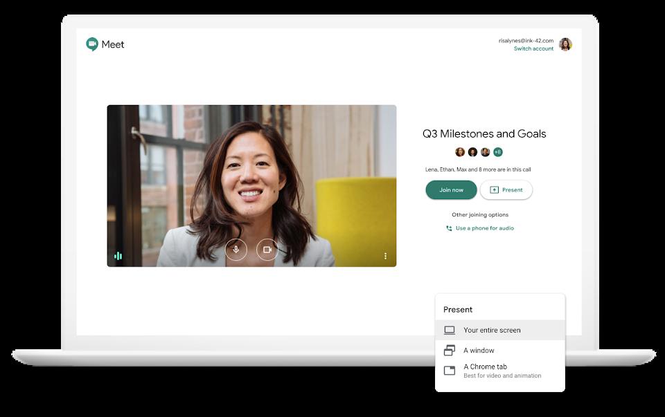 Google Meet Join Meeting